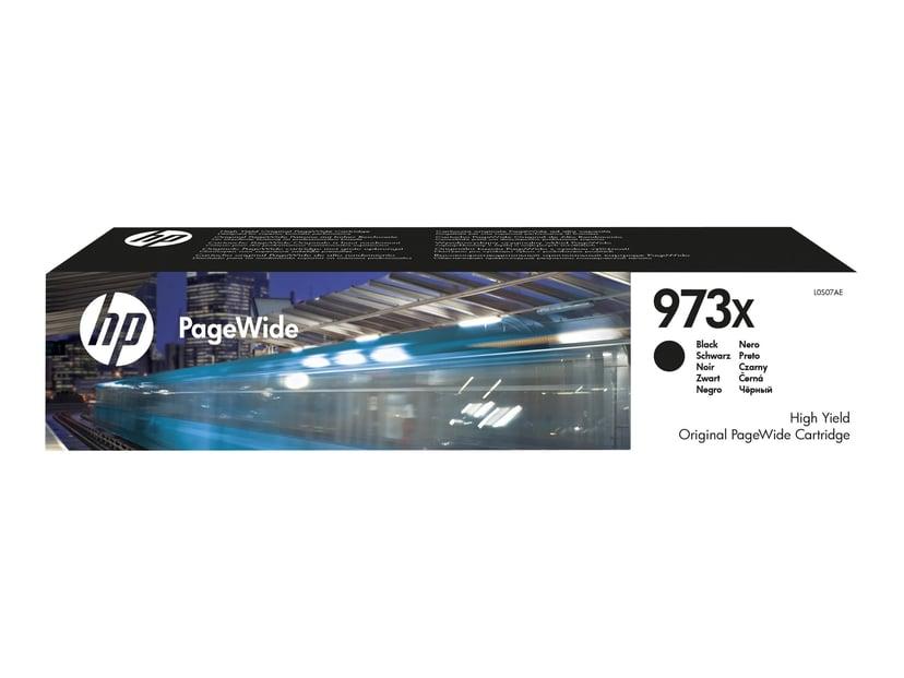 HP Bläck Svart No.973X 10k - PageWide #Köp
