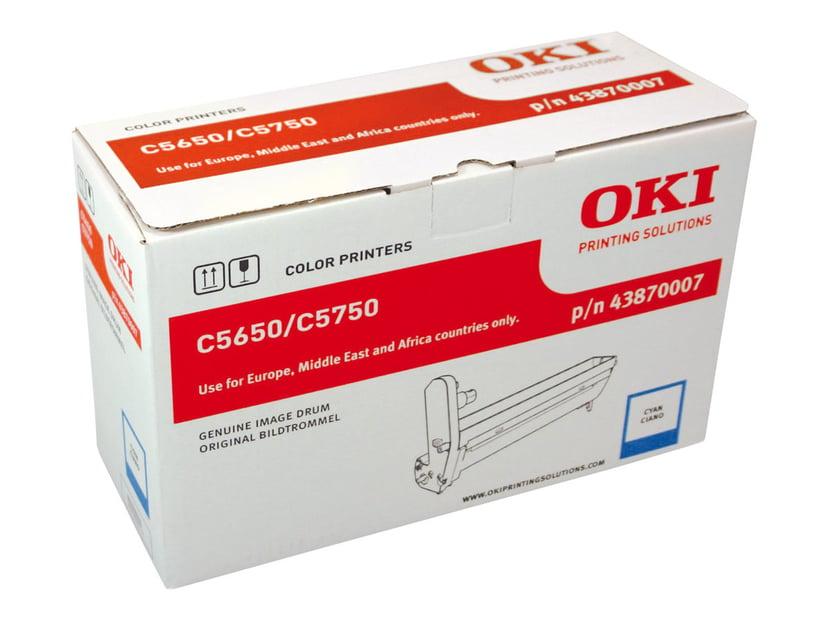 OKI Tromle Cyan 20K Sidor - C5650/5750