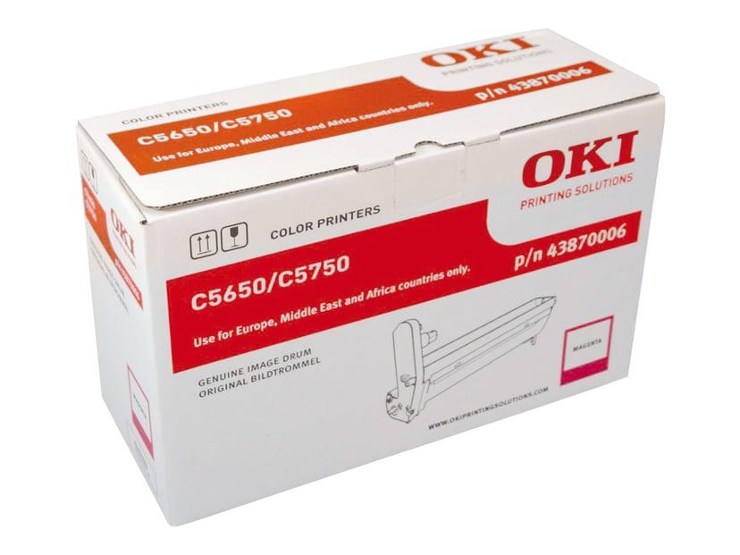 OKI Trommel Magenta 20K Sidor - C5650/5750