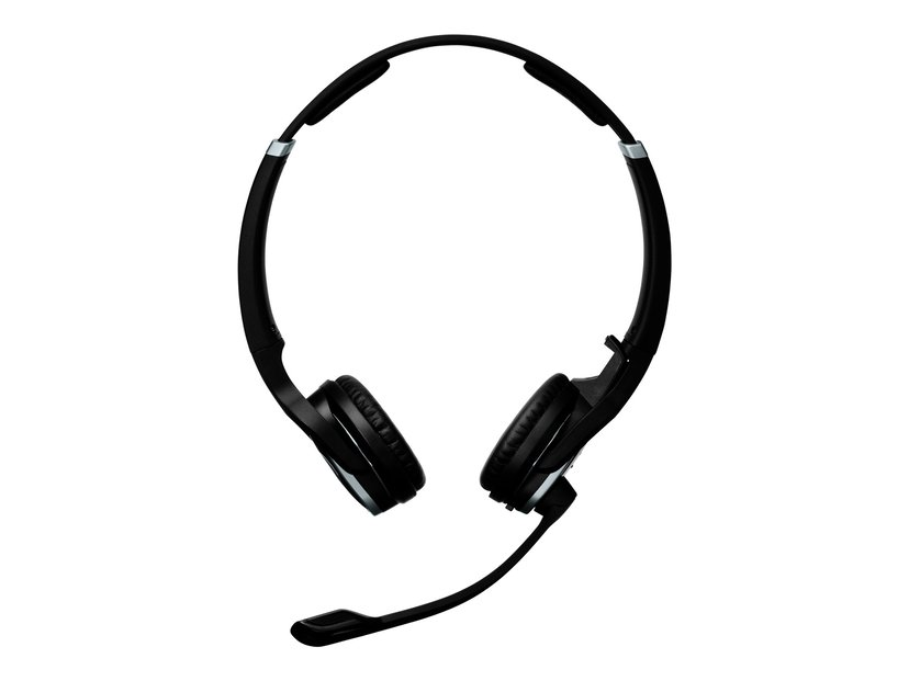 EPOS   SENNHEISER IMPACT DW PRO2 Headset Only Silver, Svart