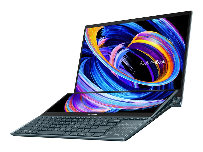 """ASUS ZenBook Pro Duo 15 OLED Core i9 32GB SSD 1000GB 15.6"""" RTX 3070"""