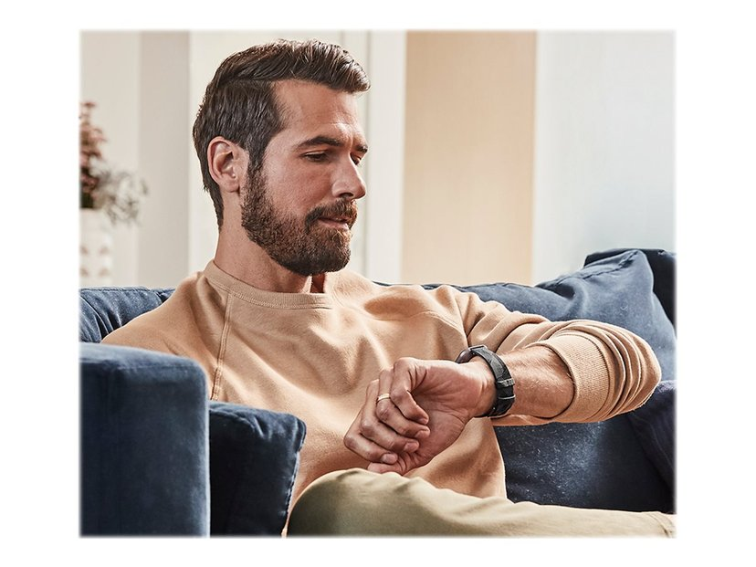 Fitbit Versa 2 Special Edition Smoke Woven Smartklokke Trekull