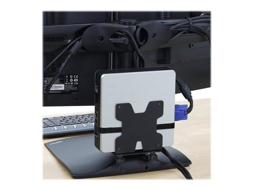 Ergotron DS100 Dual-Monitor Desk Stand, Horizontal