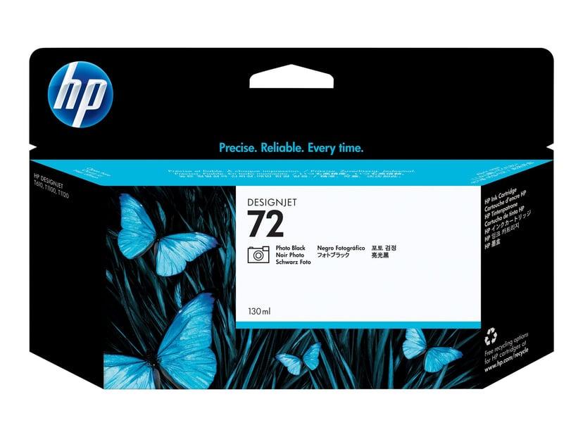 HP Muste Kuva Musta No.72 - T1100 130ml