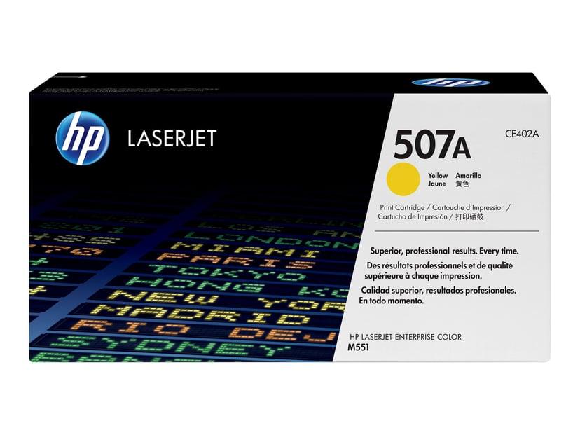 HP Toner Gul 507A 6K - CE402A  #Köp