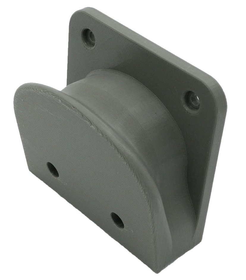 Winther 3D Printed Wall Mount Sonos Move Grey W/o Screws