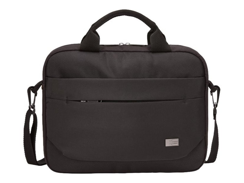 """Case Logic Advantage Laptop Attaché 11.6"""" Black 10.1"""" - 12"""", 11.6"""" Polyester"""