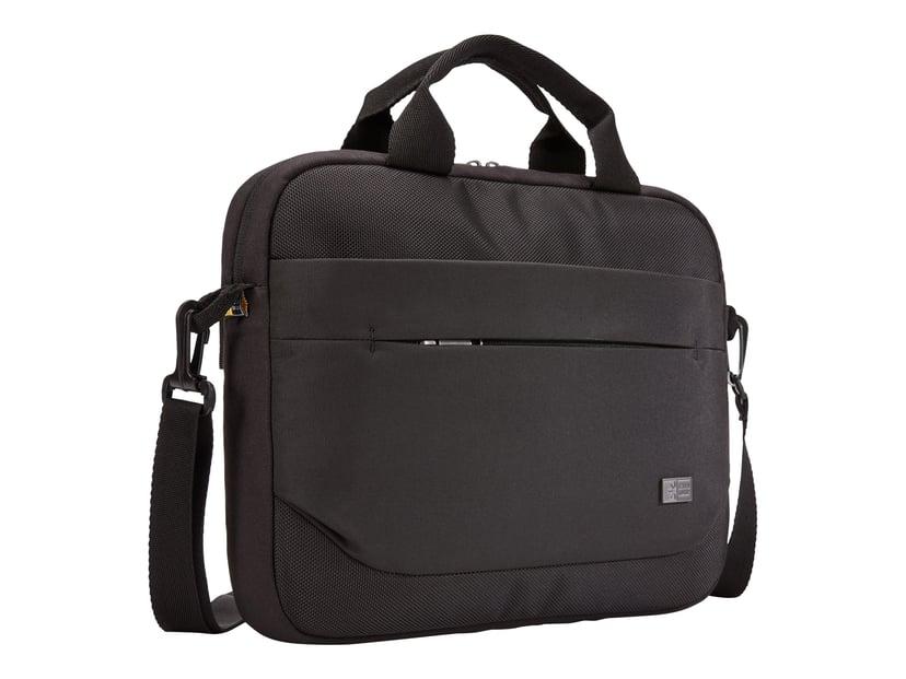 "Case Logic Advantage Laptop Attaché 11.6"" Black 10.1"" - 12"", 11.6"" Polyesteri"