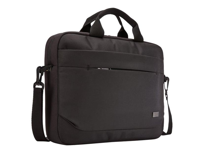 """Case Logic Advantage Laptop Attaché 14"""" Black 14"""" Polyester"""