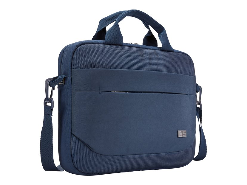 "Case Logic Advantage Laptop Attaché 11.6"" Dark Blue 10.1"" - 12"", 12"" Polyesteri"