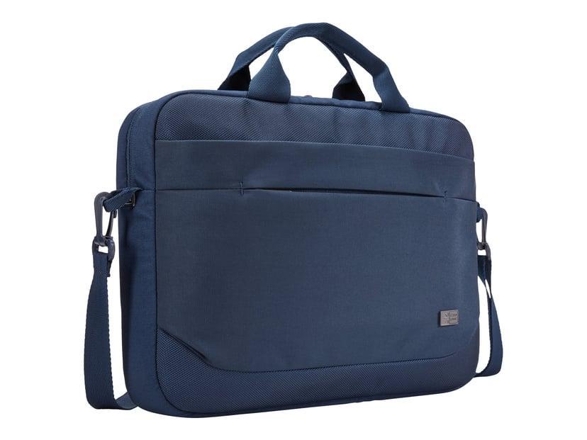 "Case Logic Advantage Laptop Attaché 14"" Dark Blue 14"" Polyester"