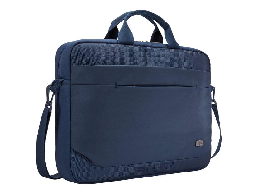 "Case Logic Advantage Laptop Attaché 15.6"" Dark Blue 15.6"" Polyesteri"