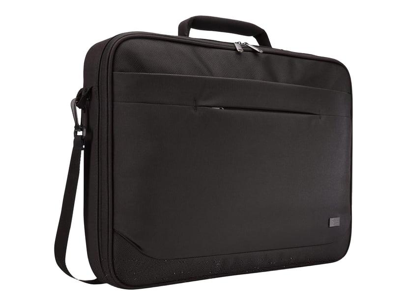 "Case Logic Advantage Laptop Clamshell Bag 17.3"" Black 17.3"" Polyesteri"