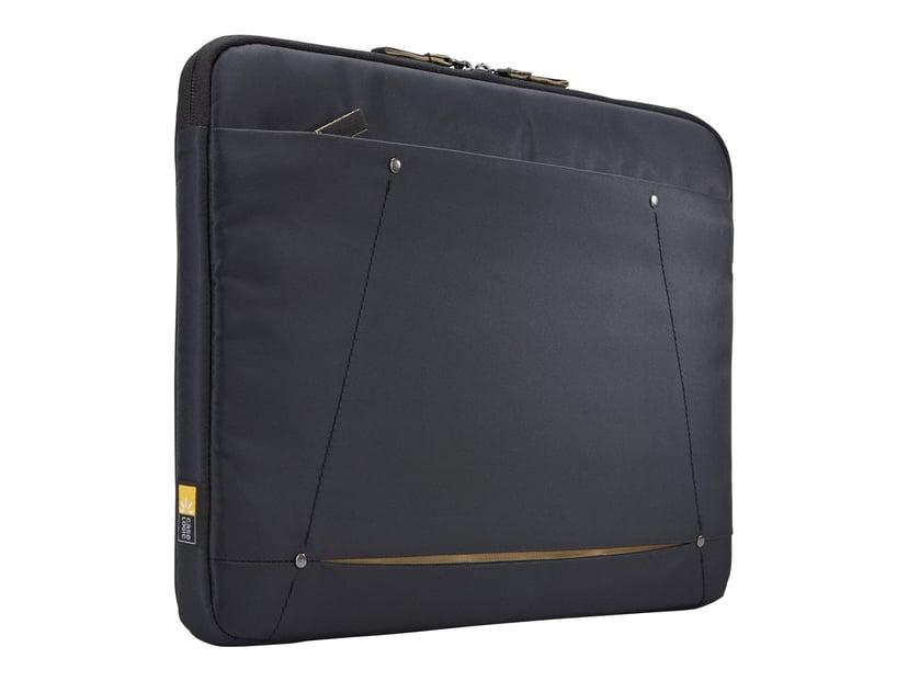 "Case Logic Deco Sleeve 15.6"" Black 15.6"" Polyester"