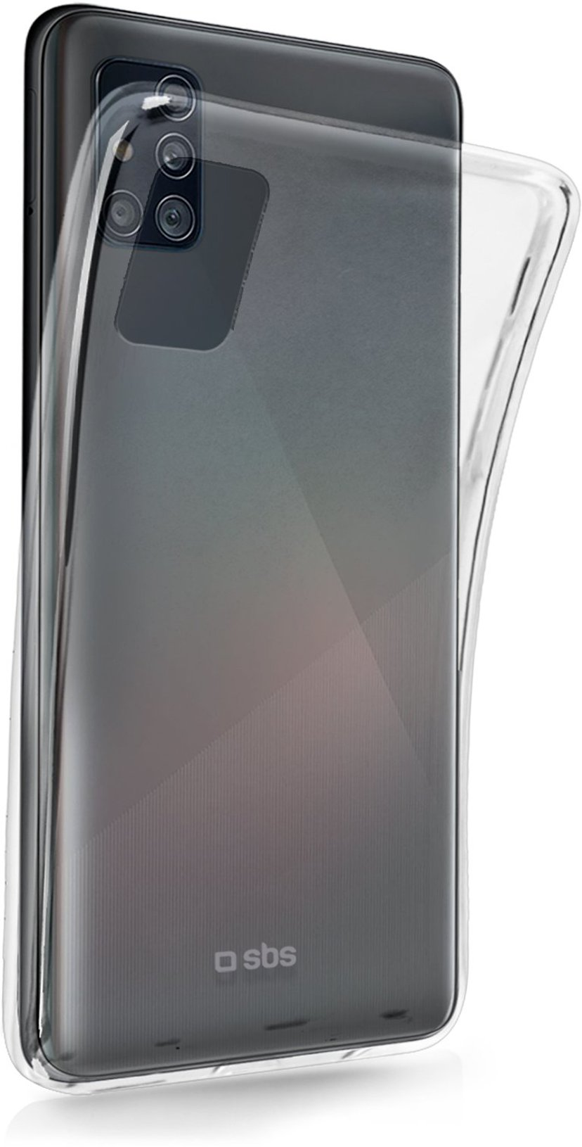sbs Skinny Cover Samsung Galaxy A52 Transparent