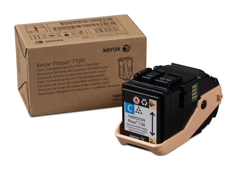 Xerox Toner Cyan  4,5k - Phaser 7100DN/7100N