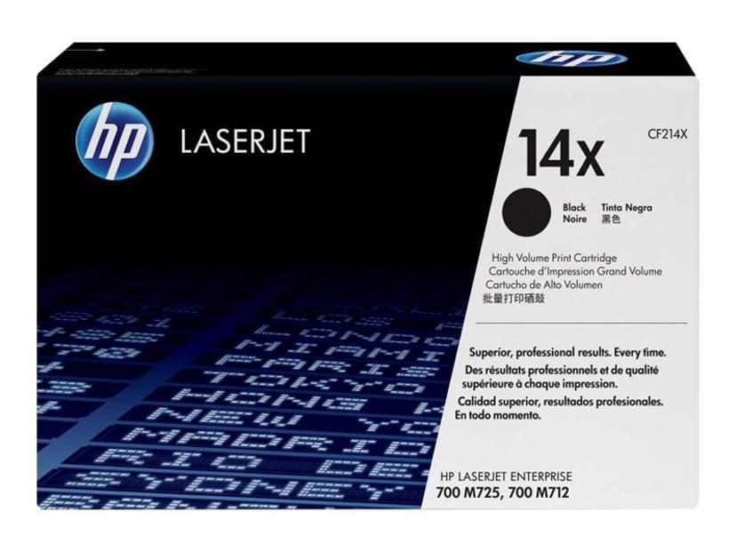 HP Toner Svart 14X 17.5K - CF214X
