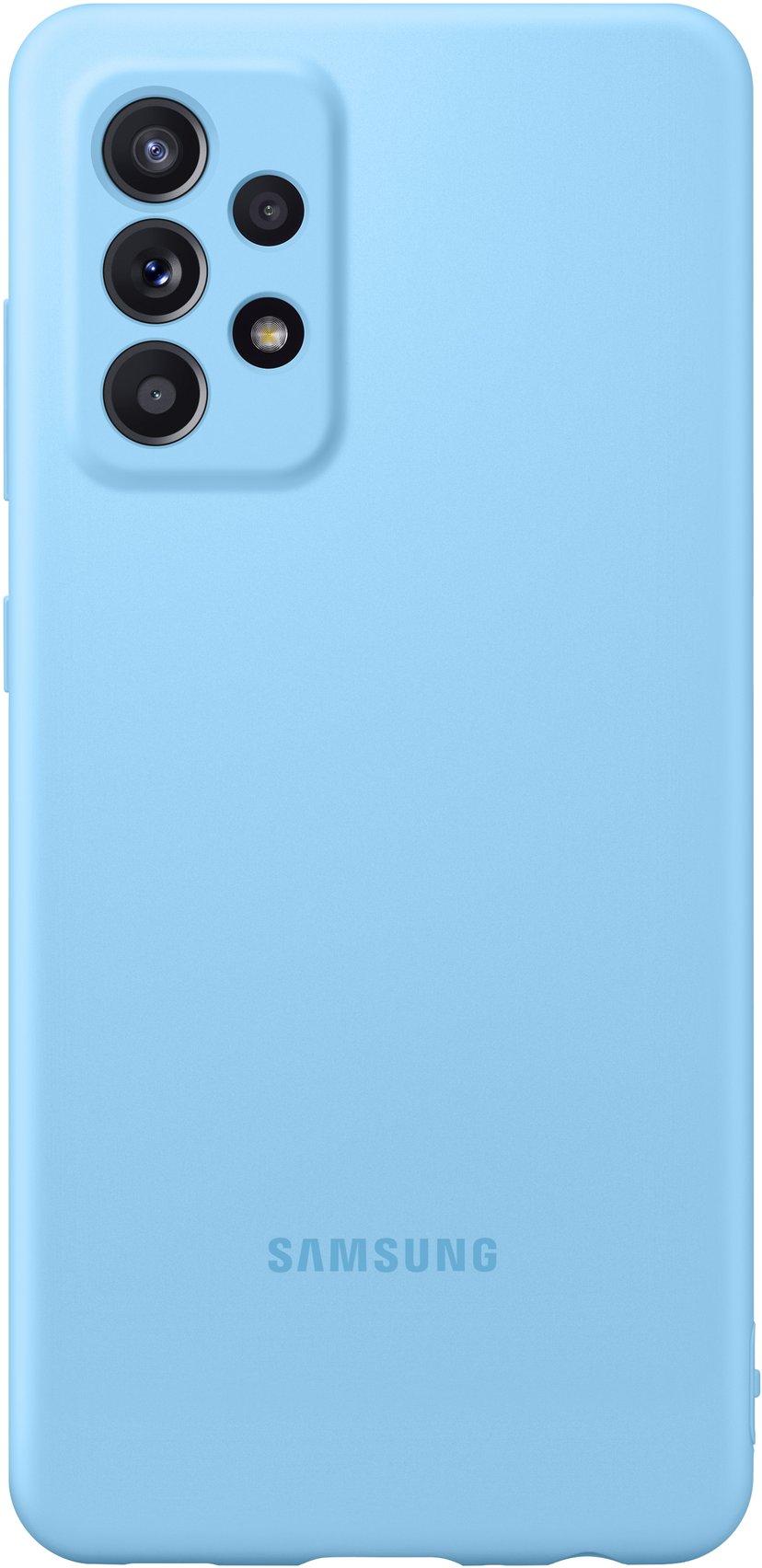 Samsung Silicone Cover Samsung Galaxy A52 Blå
