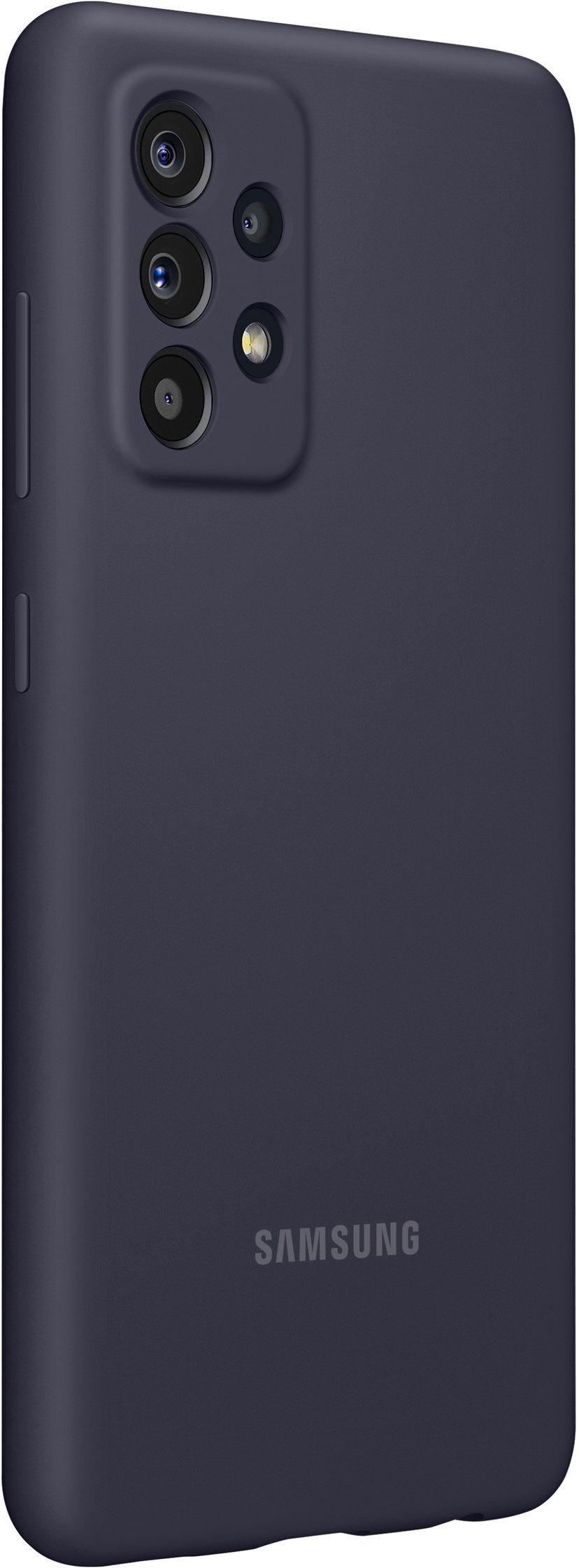 Samsung Silicone Cover Samsung Galaxy A52, Samsung Galaxy A52s Svart