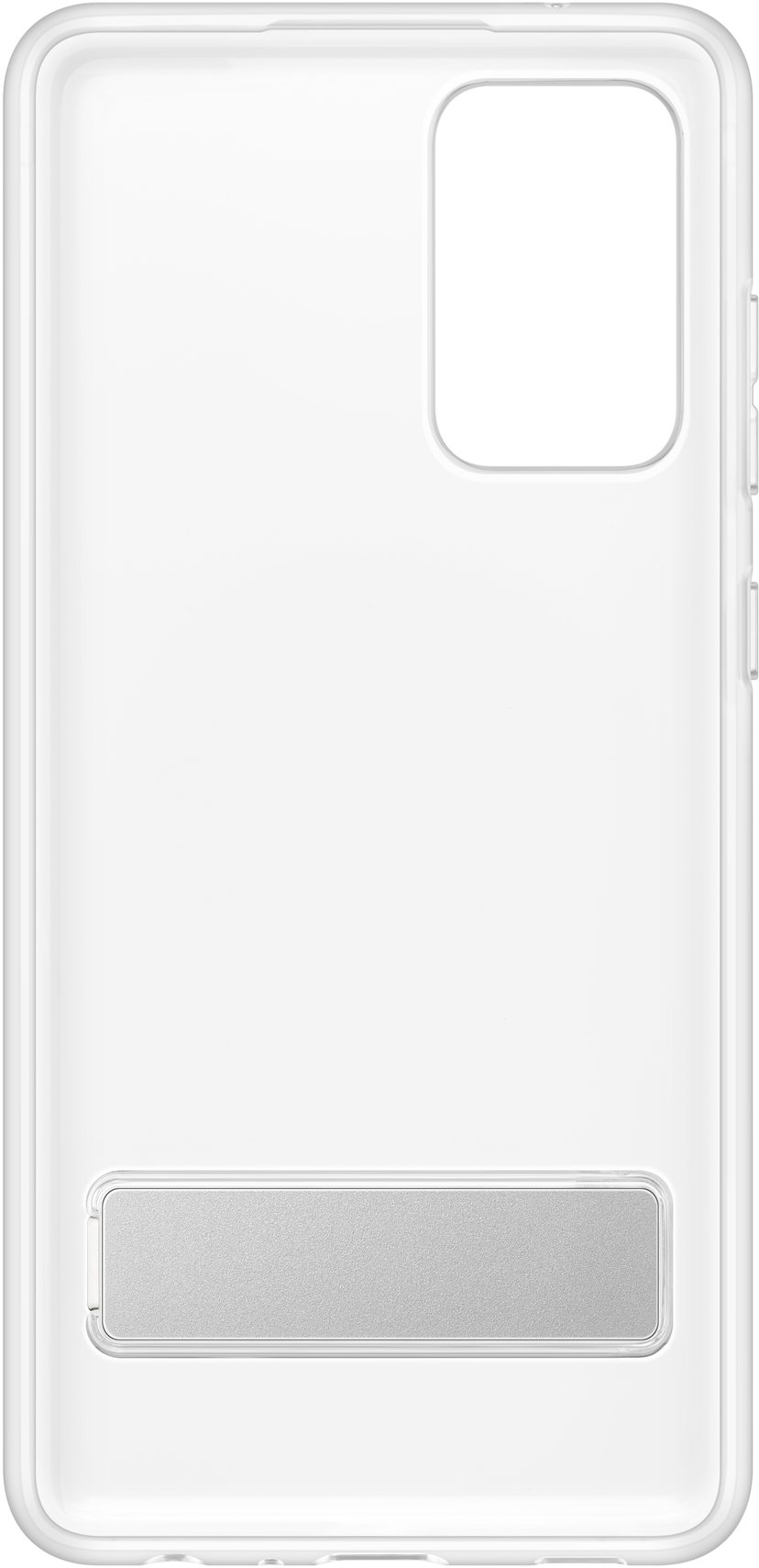Samsung Clear Standing Cover Samsung Galaxy A72 Transparent