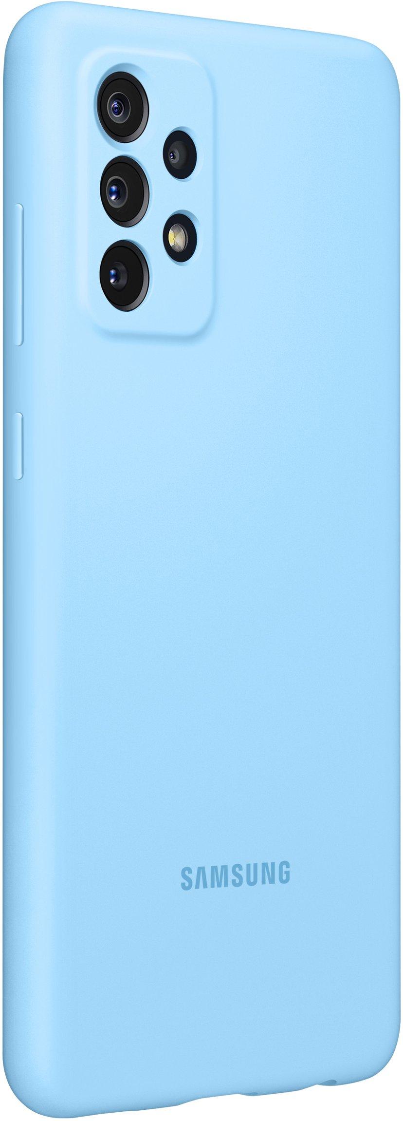 Samsung Silicone Cover Blå Samsung Galaxy A72