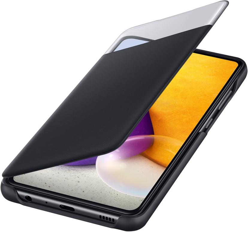 Samsung Smart S View Wallet Cover Samsung Galaxy A72 Svart