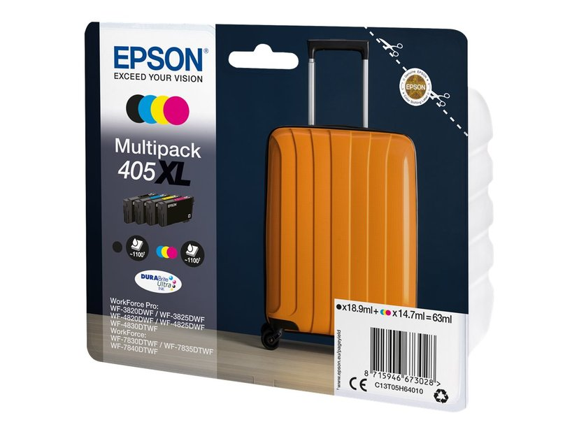 Epson Ink 4-Color 405XL (C/M/Y/BK)