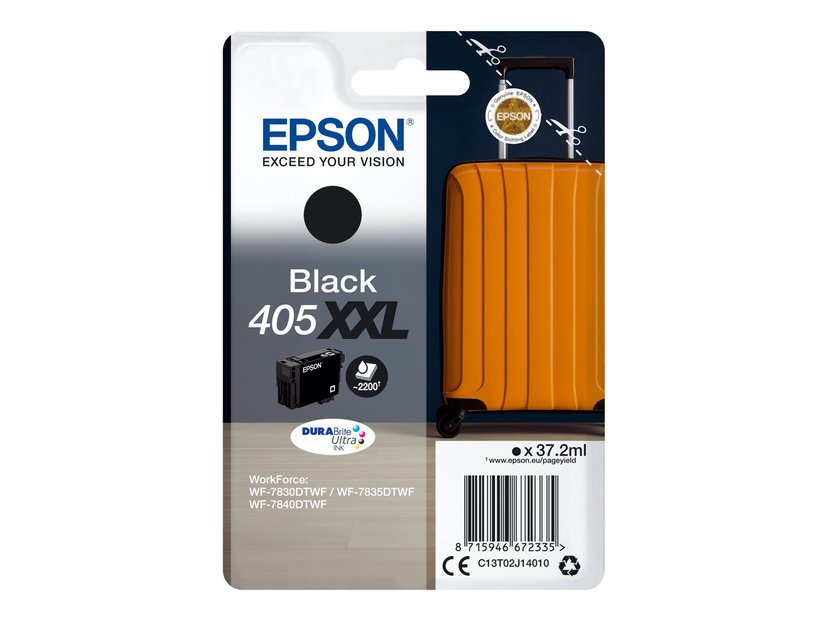 Epson Blæk Sort 405XXL 37.2ml