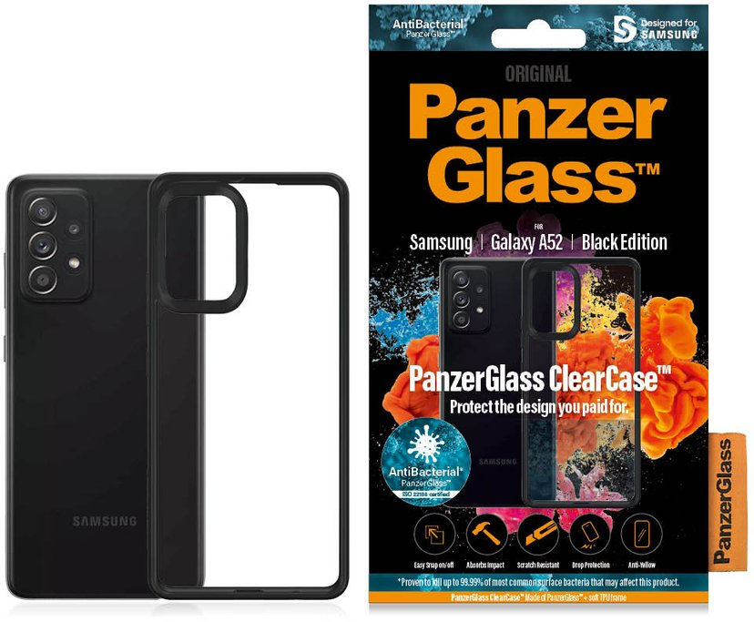 Panzerglass ClearCase Samsung Galaxy A52 Transparent