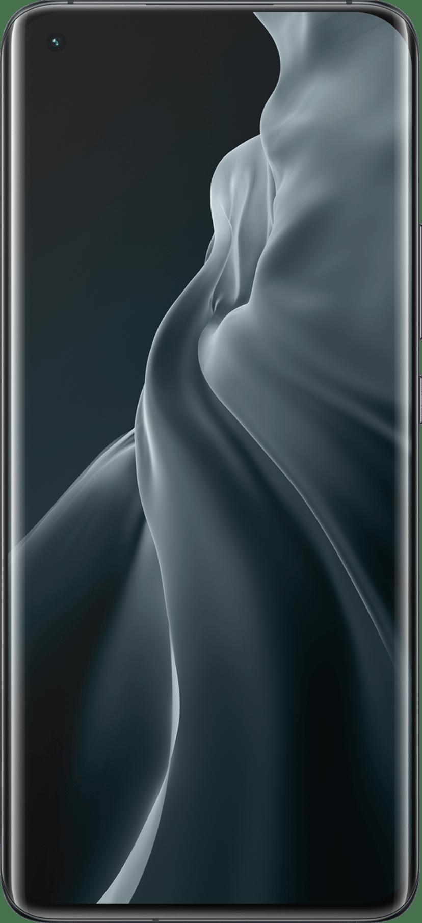 Xiaomi MI 11 256GB Dual-SIM Midnat grå