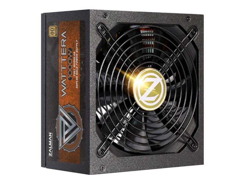 Zalman Wattera 1000W 80+ Gold Psu Modular 1,000W 80 PLUS Gold