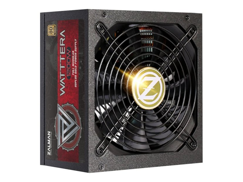 Zalman Wattera 1200W 80+ Gold Psu Modular 1,200W 80 PLUS Gold