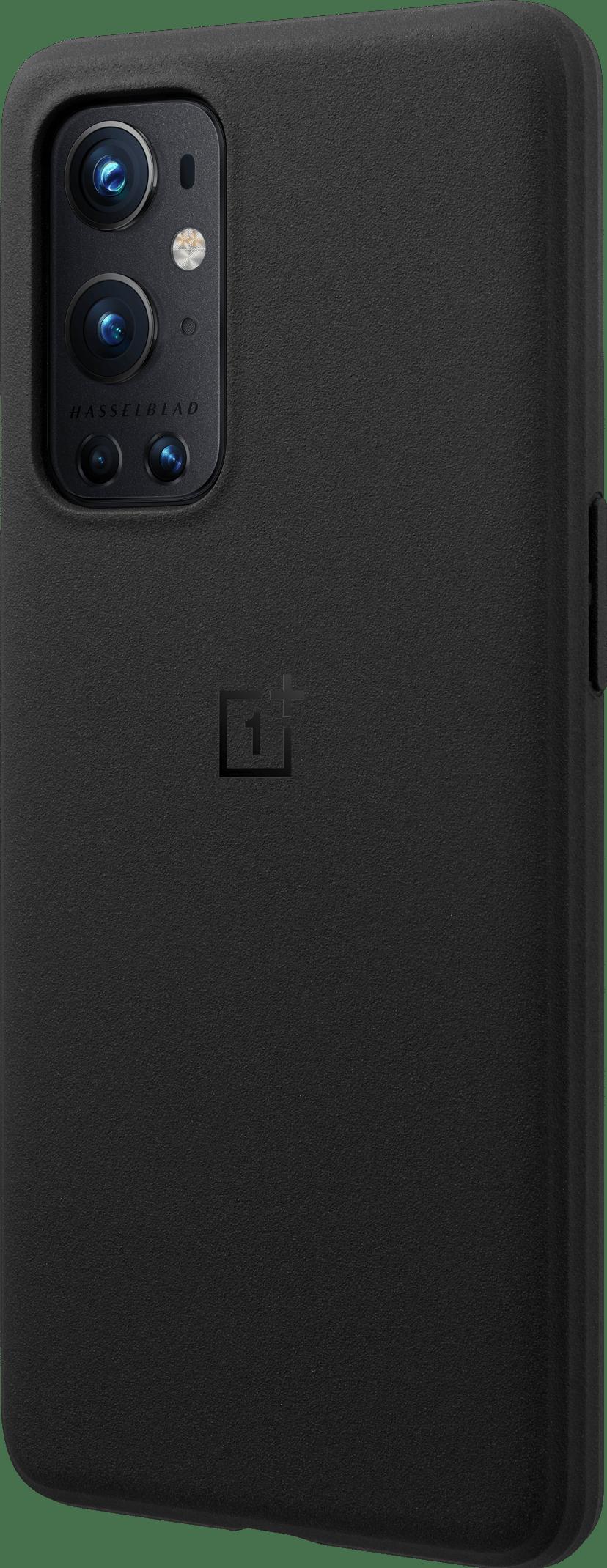 OnePlus Sandstone Bumper Case Sandstone OnePlus 9 Pro Musta
