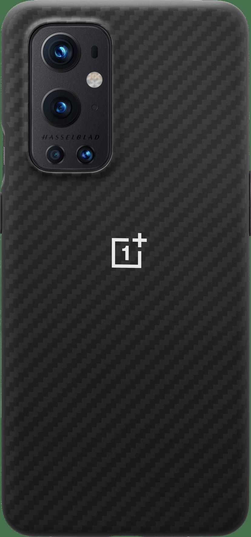 OnePlus Karbon Bumper Case OnePlus 9 Pro Musta