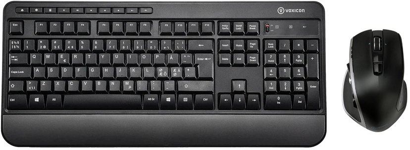 Voxicon Wireless Keyboard 295Wl + Pro Mouse Dm-p30wl Bt#kit