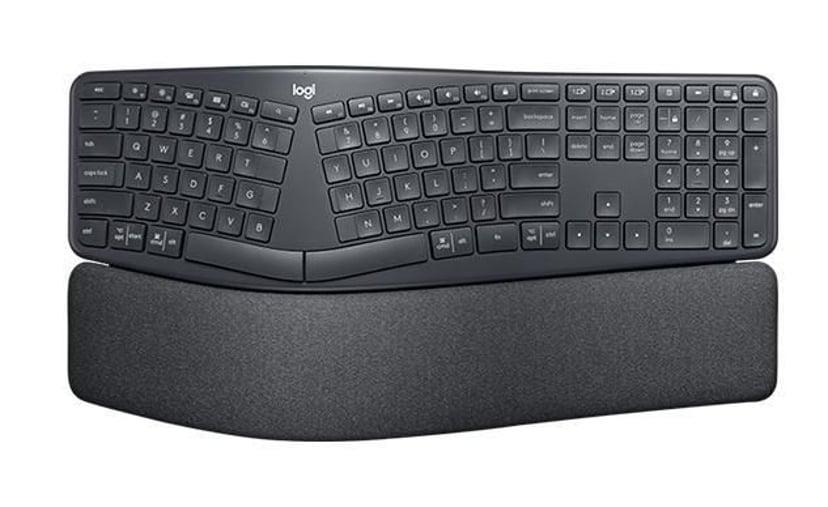 Logitech Ergo K860 Trådløs Tastatur Tysk Tysk Sort