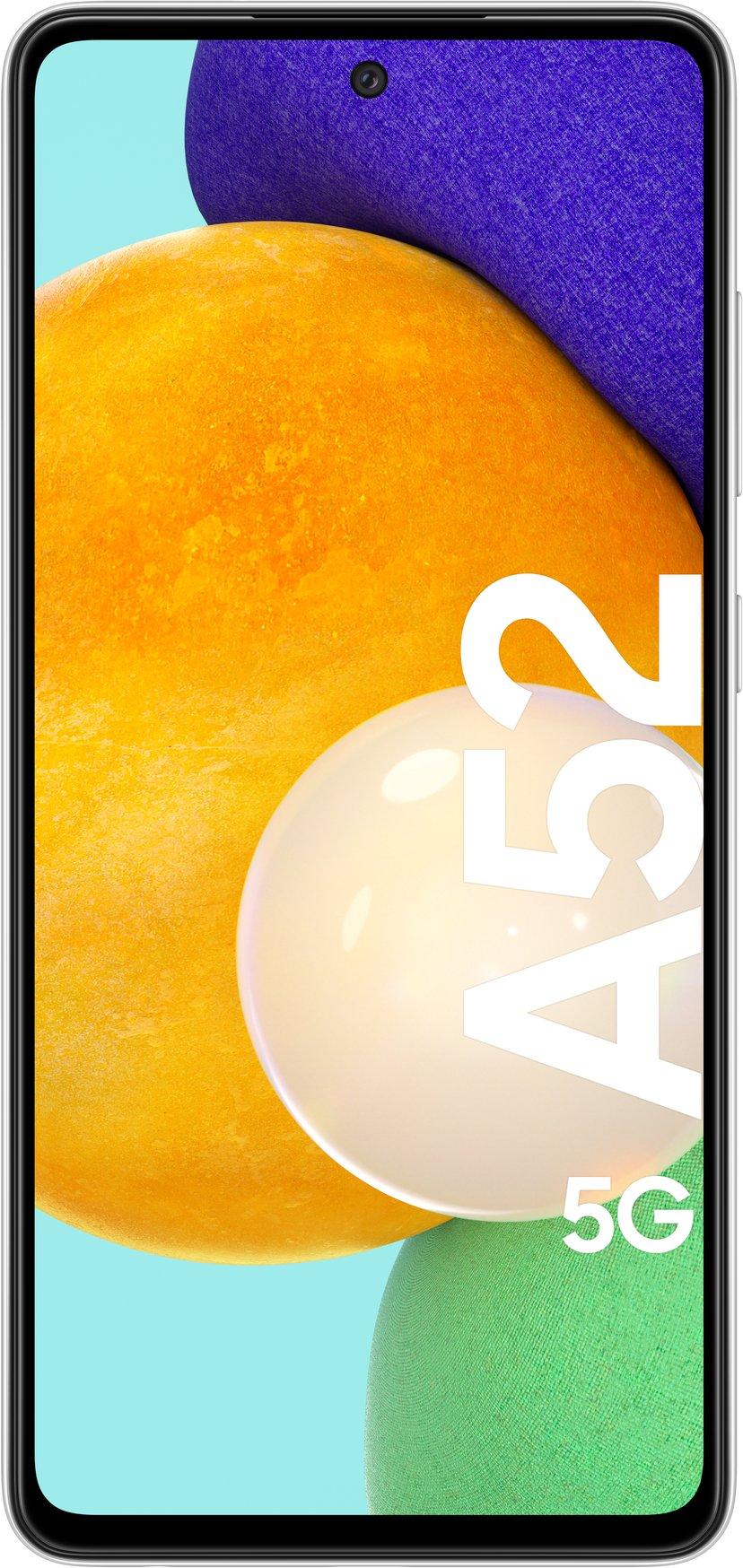 Samsung Galaxy A52 5G 128GB Dobbelt-SIM Kul hvitt