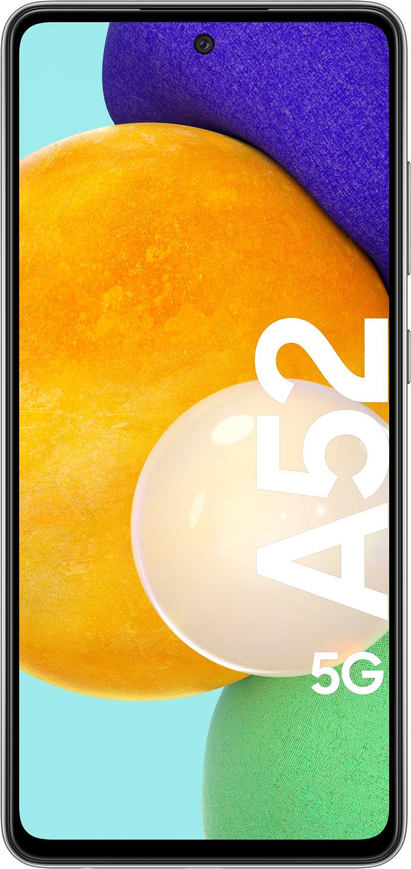 Samsung Galaxy A52 5G 128GB Dobbelt-SIM Kul svart