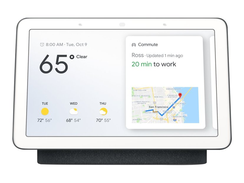 """Google Nest Hub 7"""" Charcoal"""