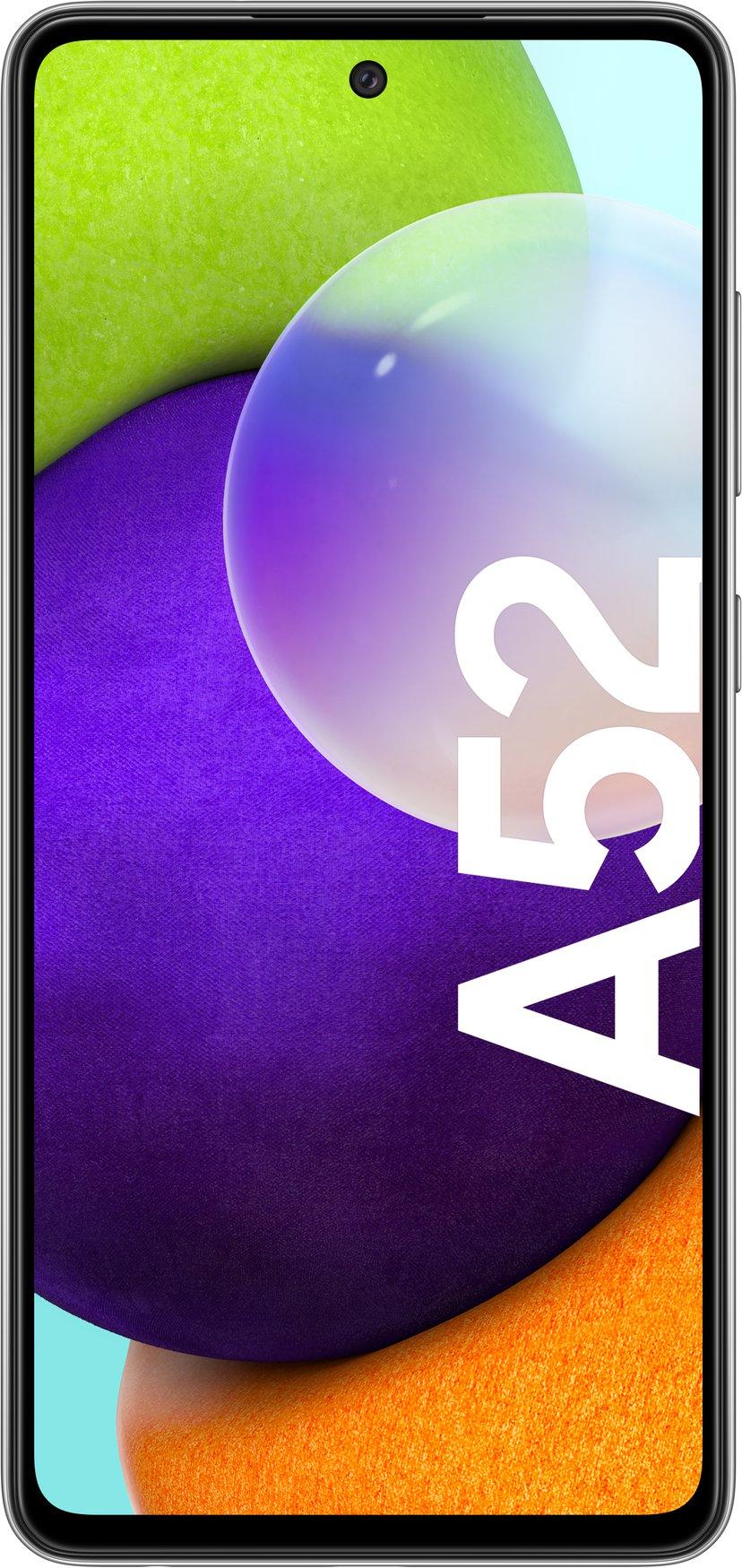 Samsung Galaxy A52 128GB Dobbelt-SIM Kul svart