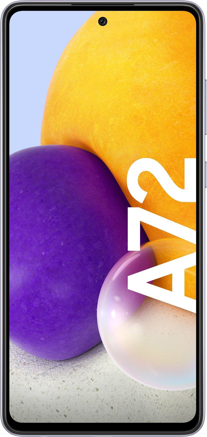 Samsung Galaxy A72 128GB Dobbelt-SIM Kul fiolett