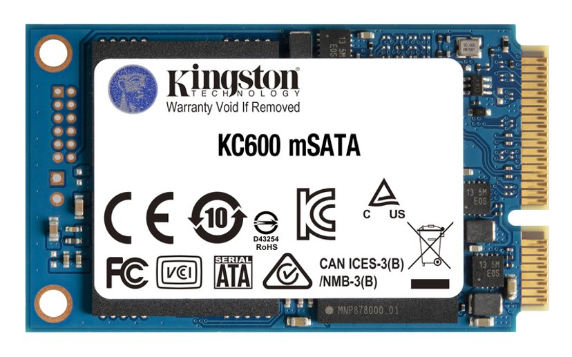 Kingston KC600 256GB mSATA Serial ATA-600