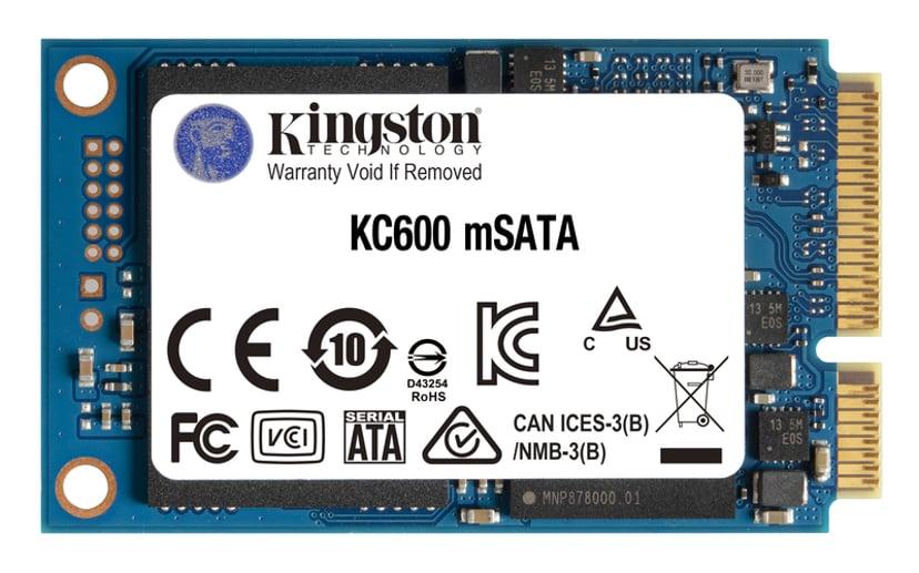 Kingston KC600 256GB Serial ATA-600 mSATA