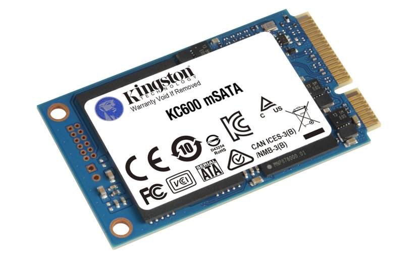 Kingston KC600 512GB Serial ATA-600 mSATA
