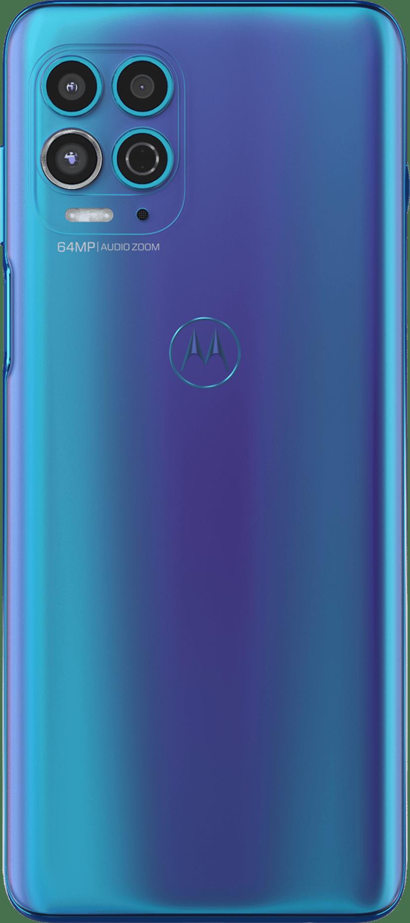 Motorola Moto G100 + docking station 128GB Dual-SIM Magiblå