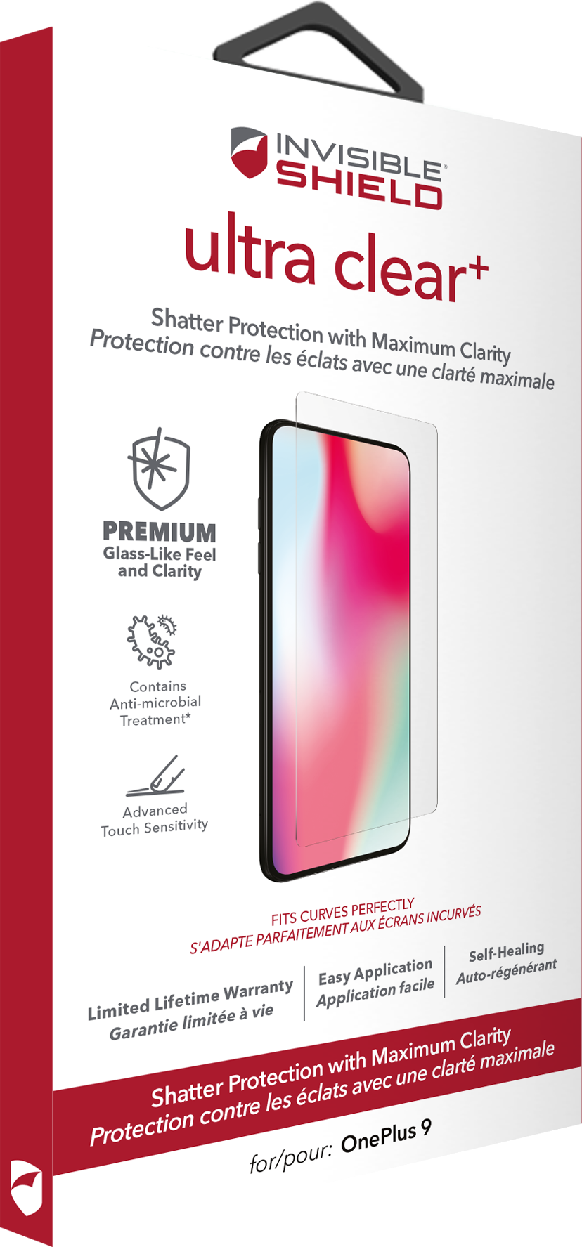 Zagg InvisibleShield Ultra Clear+ OnePlus 9