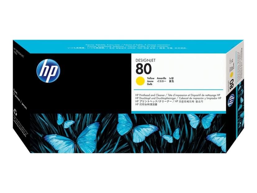 HP Printhead No.80 Gul - DJ 1050C/1055CM