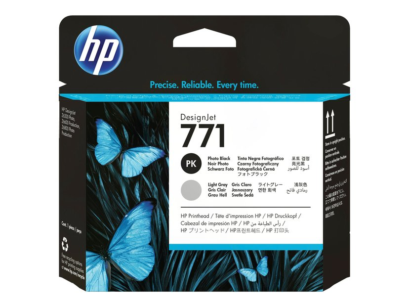 HP Printerhoved 771 PHOTO Sort + LIGHT GRAY - DESIGNJET Z6200