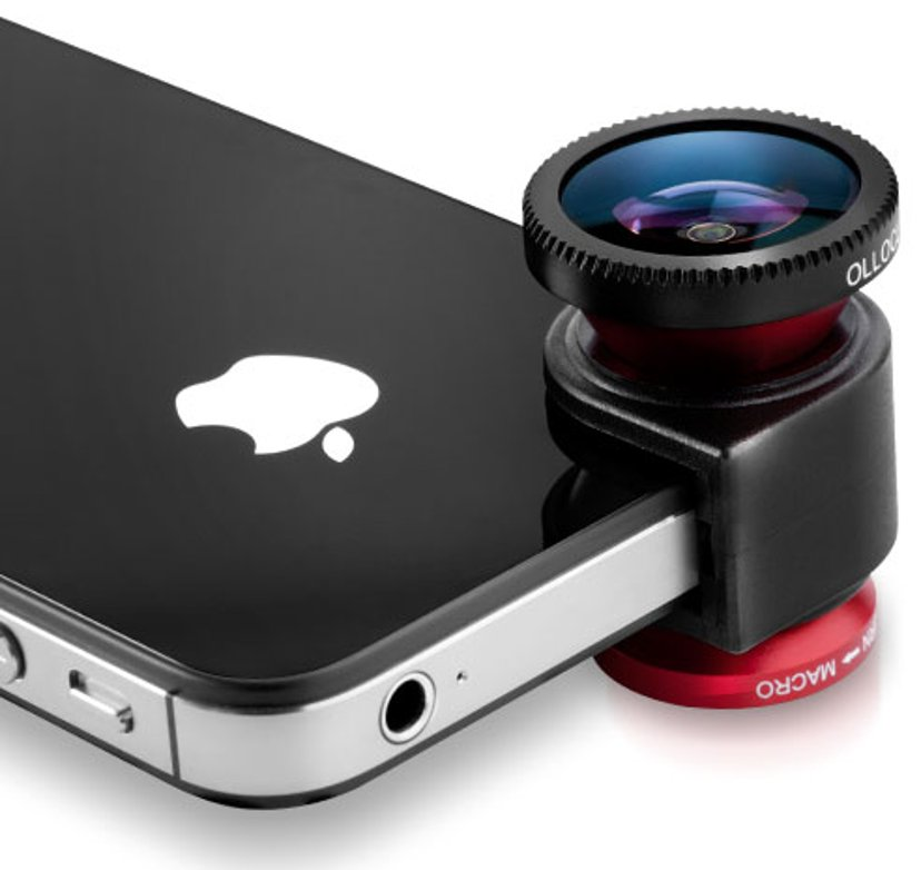 Olloclip 3-In-One Lens System Fisheye/Wide-Angle/Macro - Iph