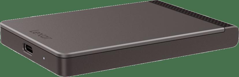 Lexar SL200 Pro SSD 0.5TB Svart